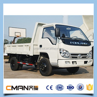 China 3t 4ton 5ton Euro2 4X2 foton forland light truck for sale