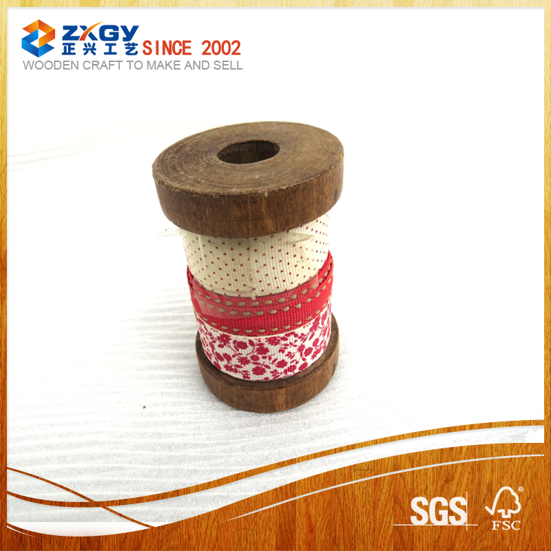 2016 new design wooden spools on sale wooden bobbins