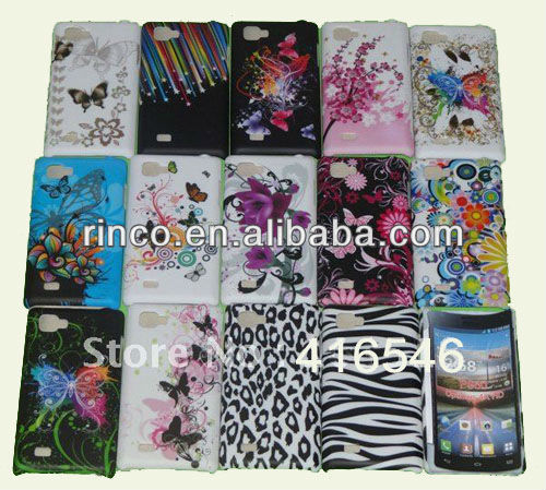 New Flower Hard Case Cover for LG P880 Optimus 4x HD