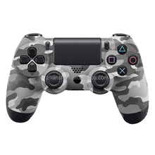 Camouflage Wireless Bluetooth Double Vibration joypad For PS4 Gamepad
