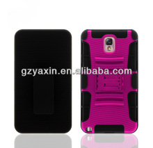 Hybrid Silicone Hard Case Kickstand Case for Galaxy Note 2,Unique Phone Case for Samsung Galaxy Note 2