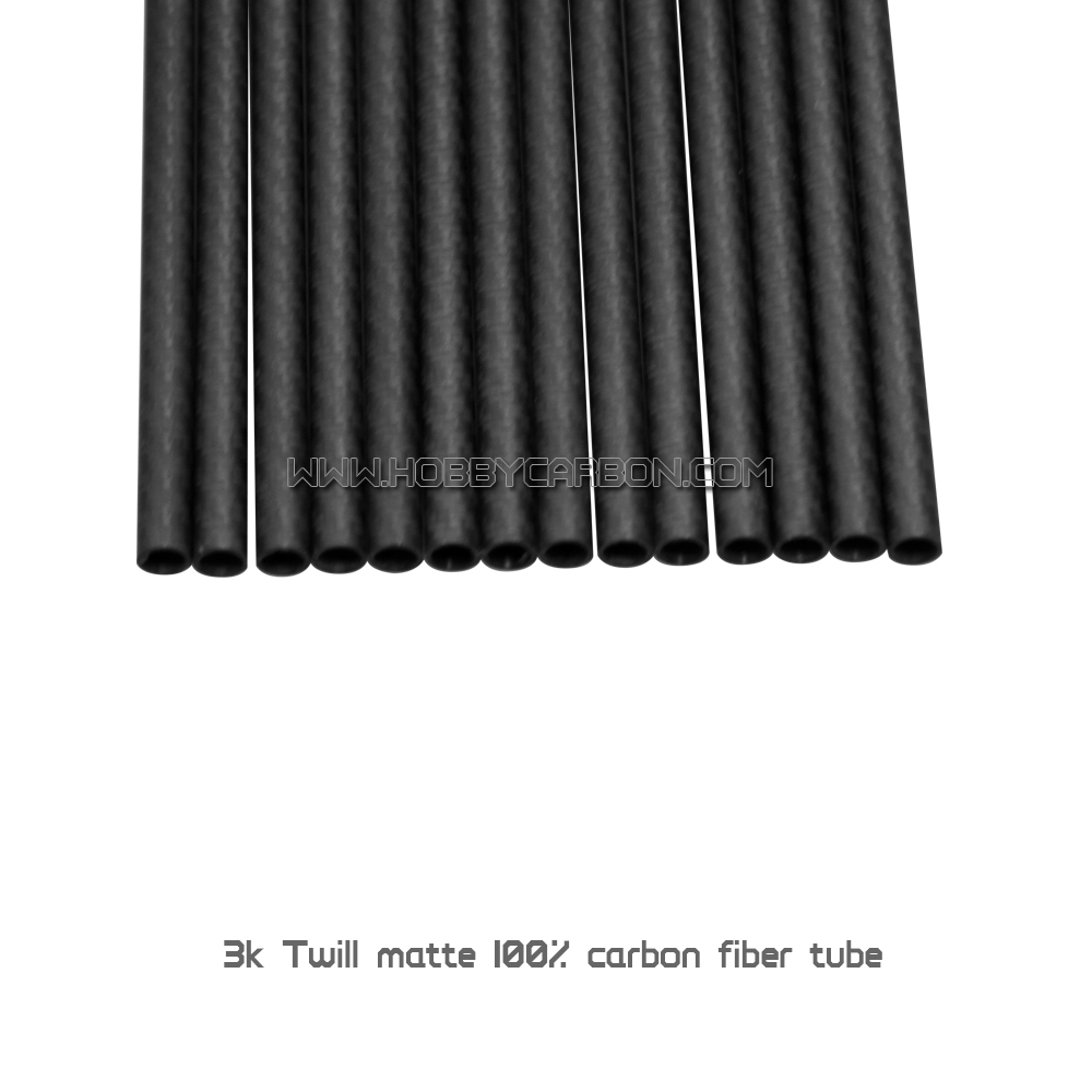 high quality Full 3K twill matte <strong>carbon</strong> tubes 25x23x450mm