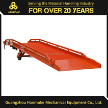 Guangzhou portable car hydraulic adjustable car ramps with solid tire