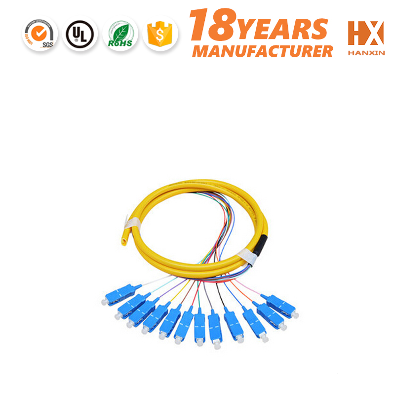 Efficiency 1*8 slc splitter Indoor fiber optic pigtail