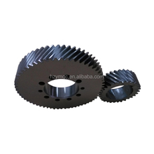 Gleason angle grinder gear with crown wheel pinion in speed reducer