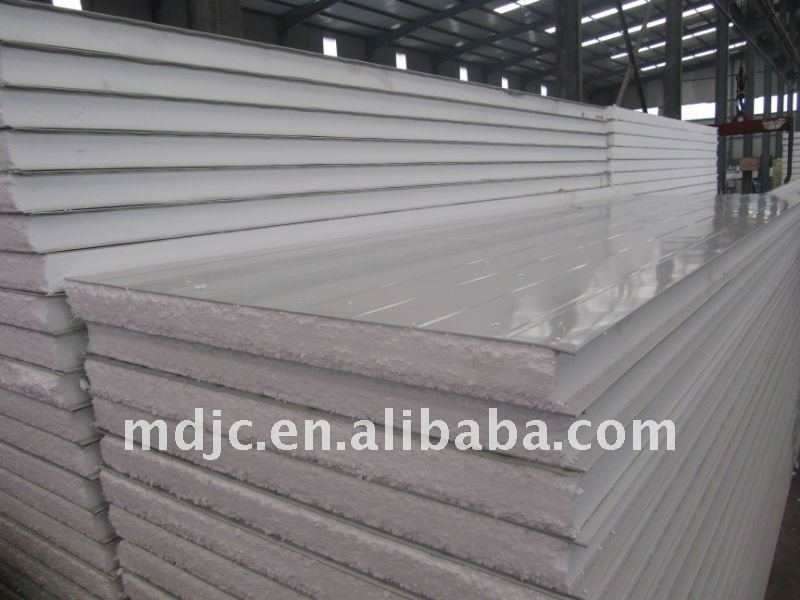 Cleanroom EPS sandwich panel for roof and wall