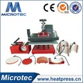 2016 Microtec high quality Combo Swing Transfer Heat Press Machine Price