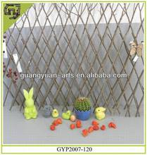 natural rattan craft decorative garden fence