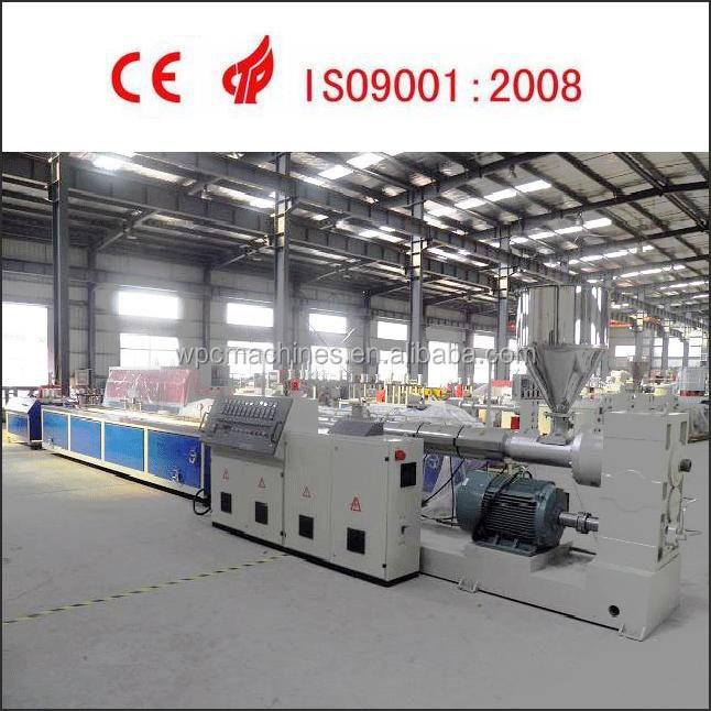 PE WOOD TWO STEPS SINGLE SCREW EXTRUSION LINE