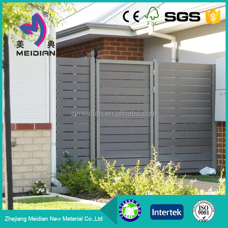 water resistance Environmental wpc outdoor fence