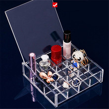 clear acrylic Cosmetic holder, Hold Lipstick,face power,pencils