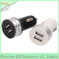 CE ROHS FCC approved 5v 2.1a double usb car charger for iphone ipad car charger