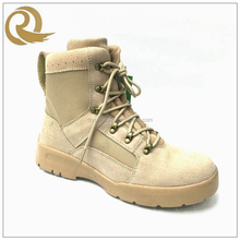 2016 Top quality sand color custom make army boots