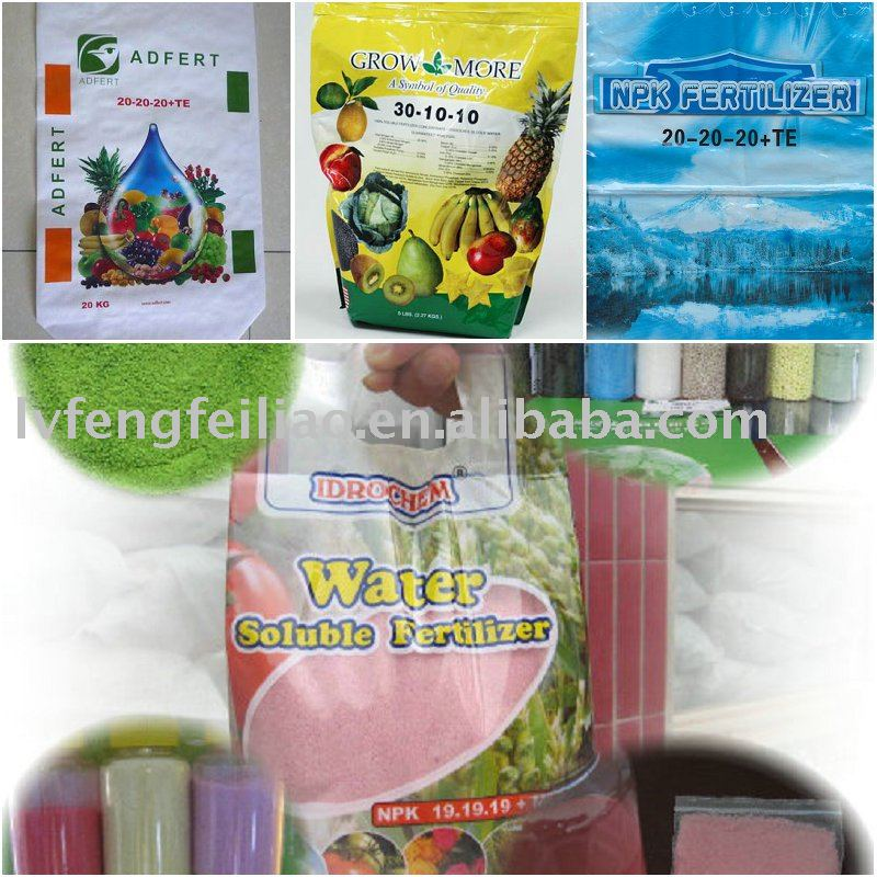 10-50-10 o 20-20-20 fertilizantes peters