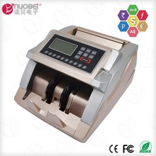 Multi currency commercial business grade bank counting digital electronic compact mixed bill counter machine