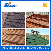 2015 Trade assurance nosen type stone coated metal aluminum roofing,metal roof tile plate tile