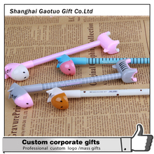 Promotional custom cute animal ball pen