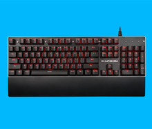 104 Keys 3 Color 4 Light Models Backlit Semi-Mechanical Keyboard Gaming GKL810