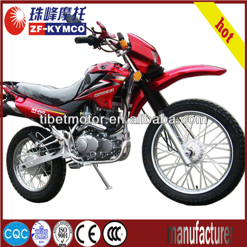 Hot-selling new design automatic 250cc dirt bike price ZF200GY
