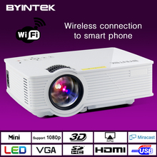 BYINTEK Video Portable WIFI Mini LED HDMI Home Theater 3D Projector Proyector beamer