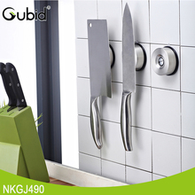 Stainless Steel Strong Sticky Suction Cup Magnetic Knife Holder in Kitchen