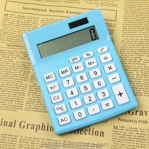Hot sale promotional big desktop cheap calculator, china supplier/ HLD-804