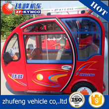 High speed tricycle 3 wheel dumper cabin