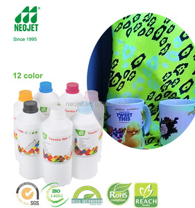 good quality ink factory supply high compatible fluorescent ink sublimation for bulk ink system roland piezo print head