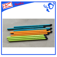 Huake Triangle fluorescent pencil,Wooden pencil