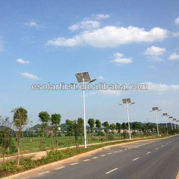 50W Double LED Solar Street Lihgt