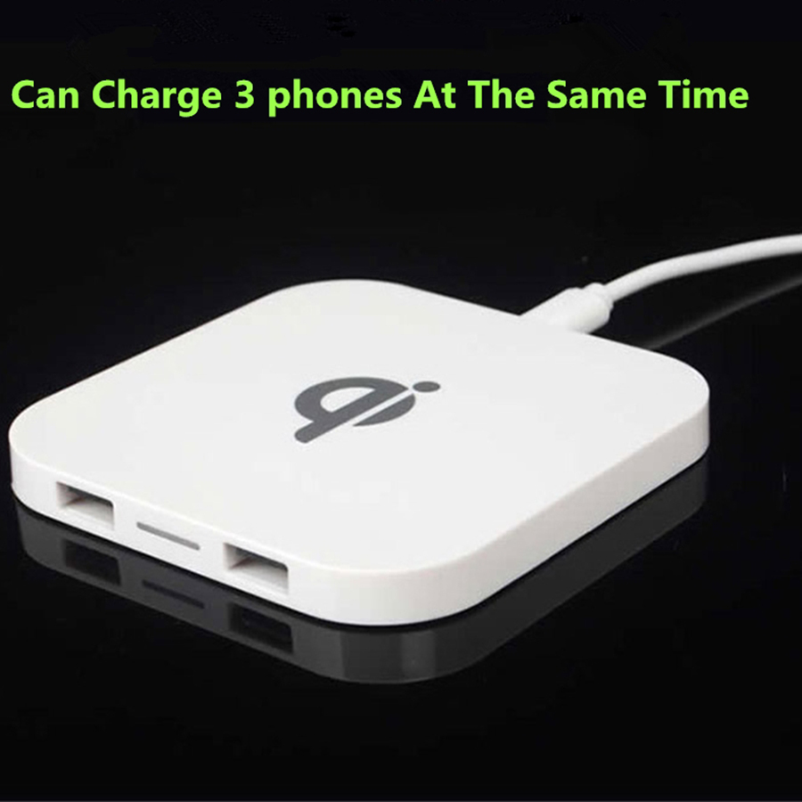 Square Shape Wireless Charger Fast Charging for iPhone x 5W 03