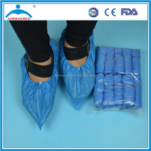 disposable PP+PE overshoes, plastic shoe covers