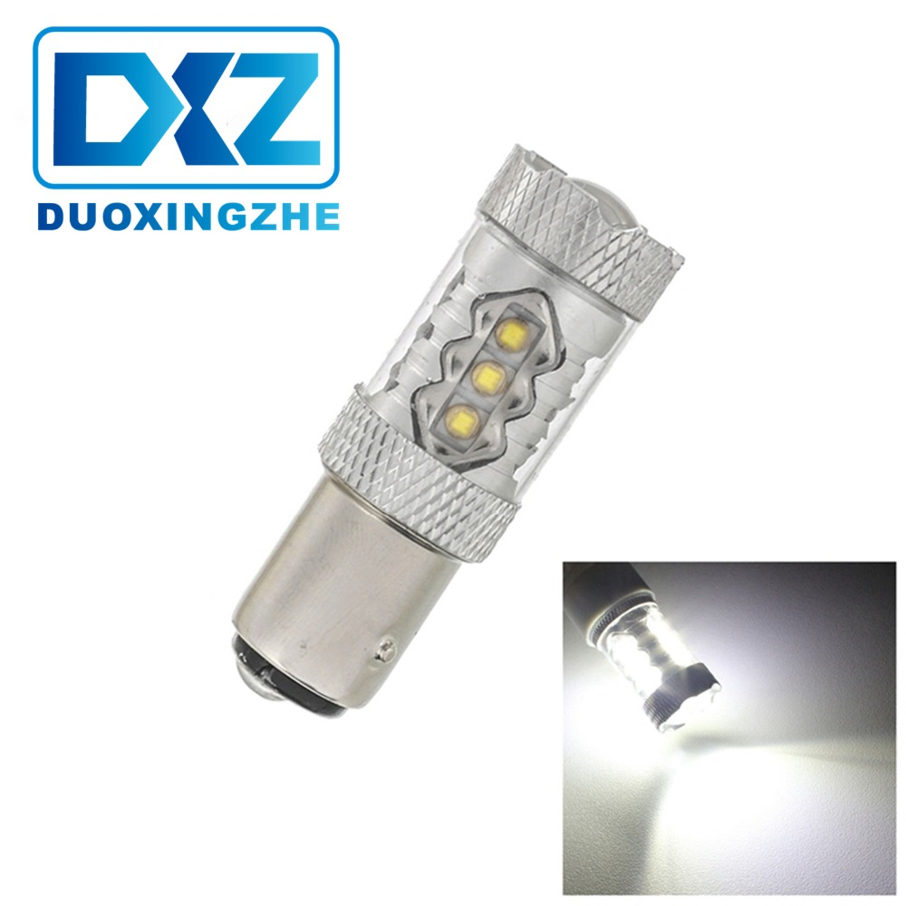 DXZ High power crees 80w led car light 1157 brake light Reverse Backup Light Bulb 12V
