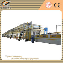 automatic corrugated paperboard production line