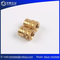 New Product Alibaba Blind Hole Brass Insert Chamfer Nut