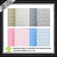 Lemon mesh for flower wrapping, home decoration