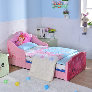 Children's fashion cartoon bedroom modern bed baby furniture