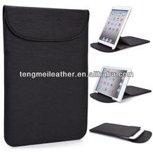 New! Black Flexi-Stand PU Leather Slim Travel Sleeve Case For Ipad Mini,Waterproof Case For Ipad Mini