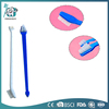 Plastic two sides head cat toothbrush pets toothbrush