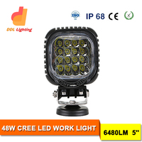 12v/24v 5inch 48w led driving lights auto led work light bar for trucks