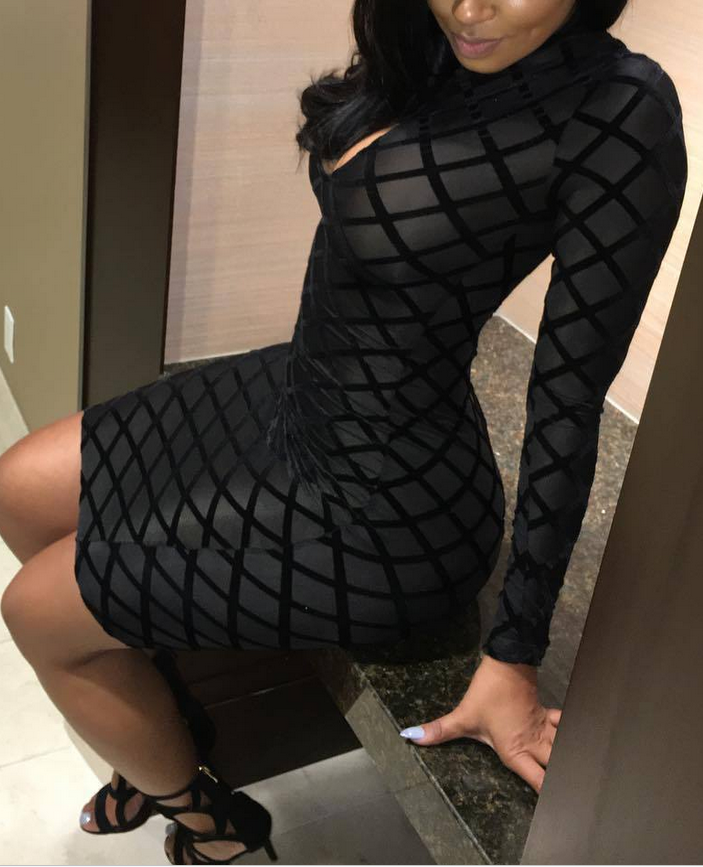 B31816A Club Dresses factory see through bodycon sexy night club dress lace wholesale for women