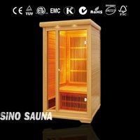 1 person portable sauna and steam combined room