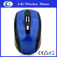 Adjustable cpi resolution 2.4g wireless mouse