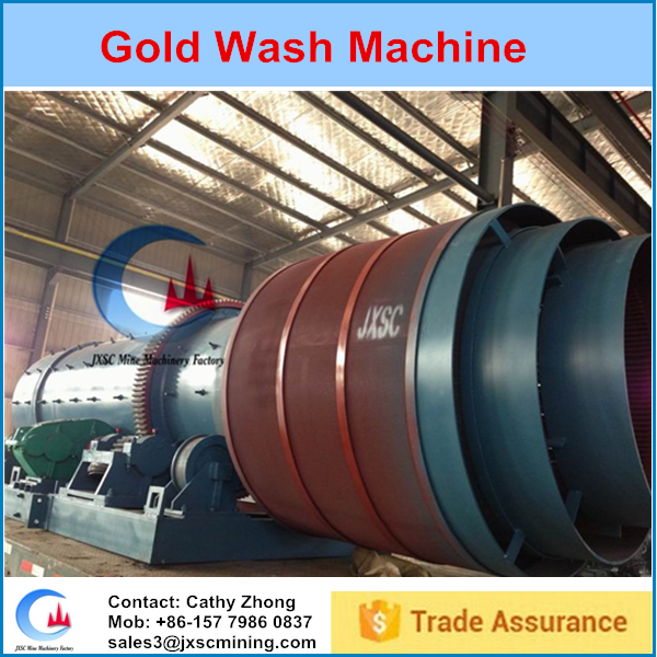 Good quality small washing plant for gold