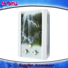 Glass Panel Different capacity gas water heater
