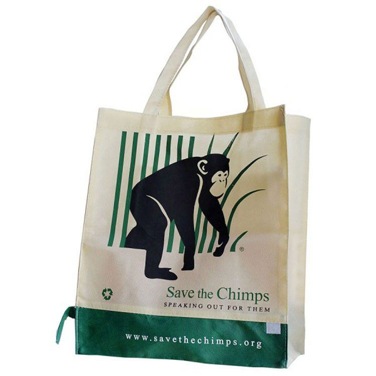 Full Color Printing Non Woven Bag Made By 80Gsm Non-Woven Fabric From Cangnan Supplier