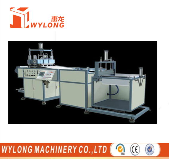 Automatic BOPS Thermoforming Machine With Stacking, air pressure thermoforming machine,
