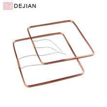 0.2mm wire Dia air core coil 125khz antenna RFID induction coil self-adhesive coil for antenna
