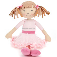 Baby Girl Rag Doll Handmade Fashion Rag Doll Cloth Dolls
