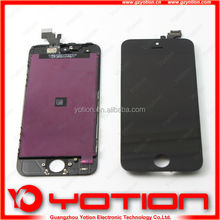 hot sale first capacitive touch screen phone for iphone 5 lcd digitizer assembly